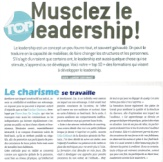 Musclez le leadership !